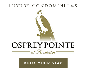 Book your stay at Osprey Pointe.