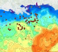 Gulf Temps Chart