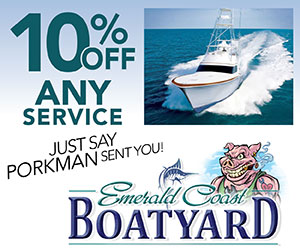Special ECBC Discount at Emerald Coast Boatyards