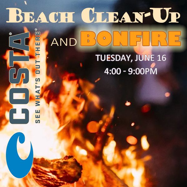 Costa Beach Clean-Up and Bonfire