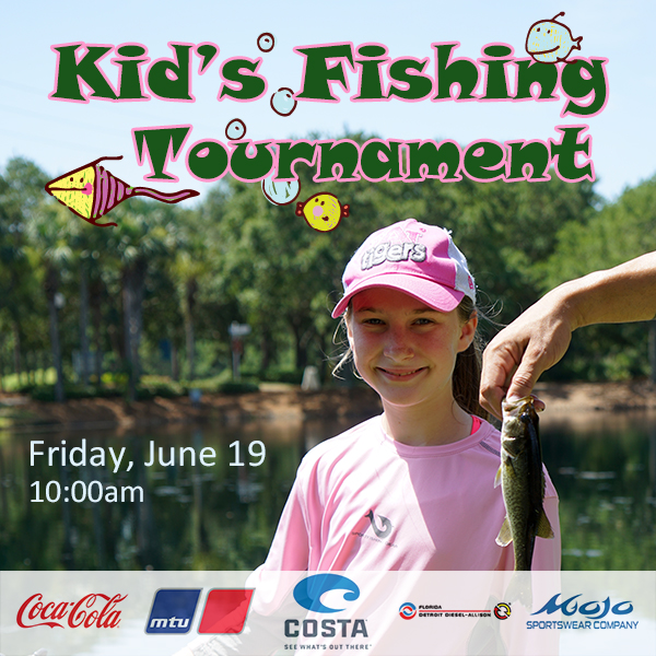 Featured Event - Kid's Fishing Tournament