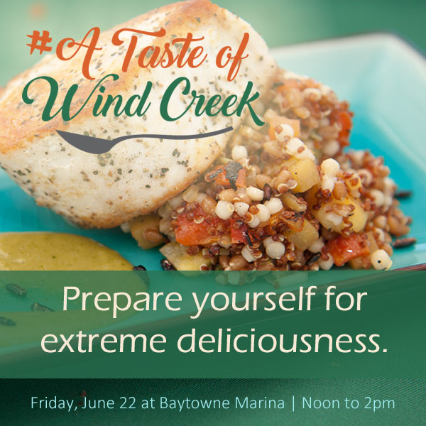 ECBC Featured Event - A Taste of Wind Creek