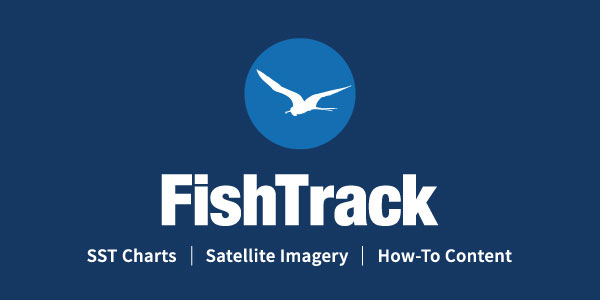 FishTrack Sea Surface Temps and Satellite Imagery