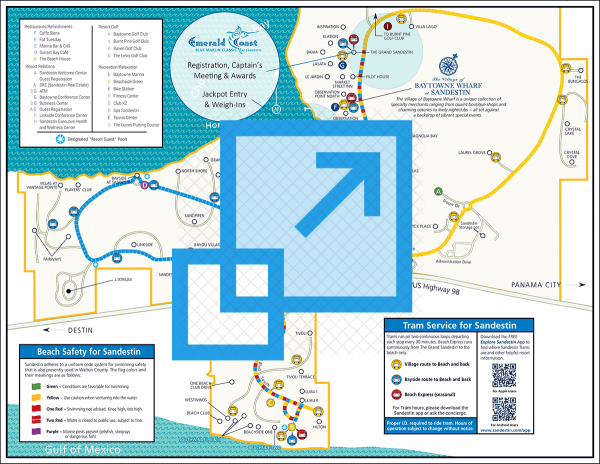 Sandestin Resort Map